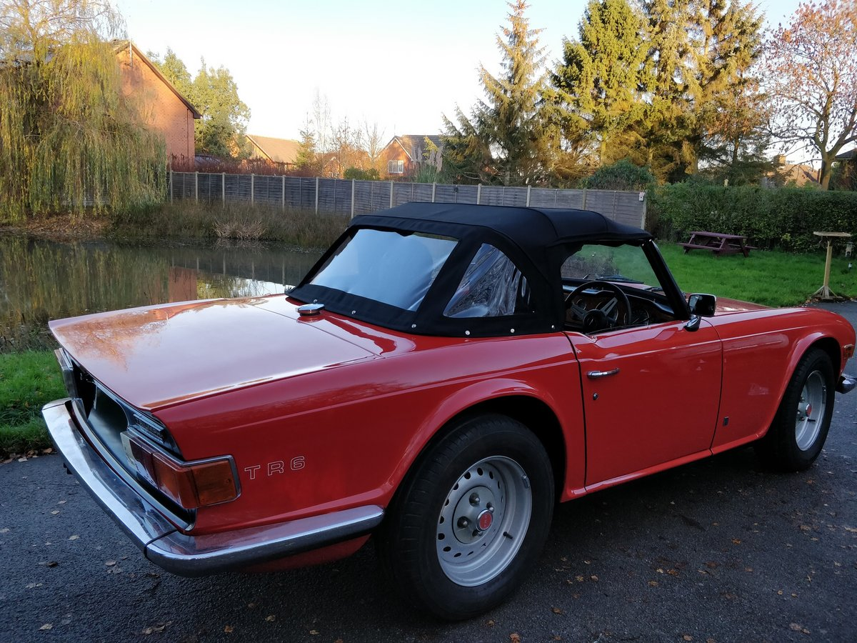 Recommend hood fitters for TR6 hood please - TR6 Forum - TR Register