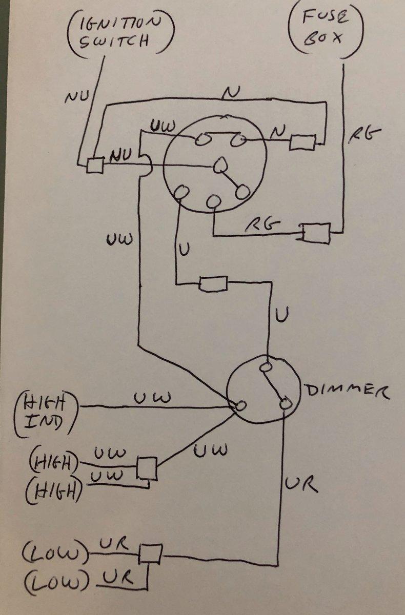[TBQL_4184]  TR4a Wiring Diagram - TR4/4A Forum - TR Register Forum   Triumph Tr4a Wiring Diagram      TR Register