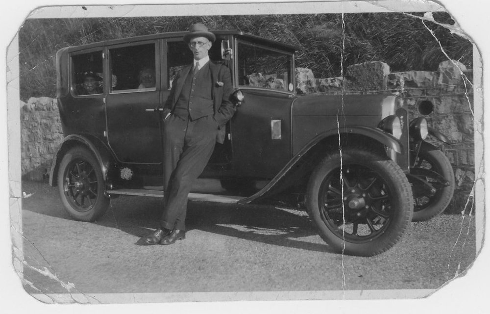 Copy of Father with Car mid 1930s.JPG