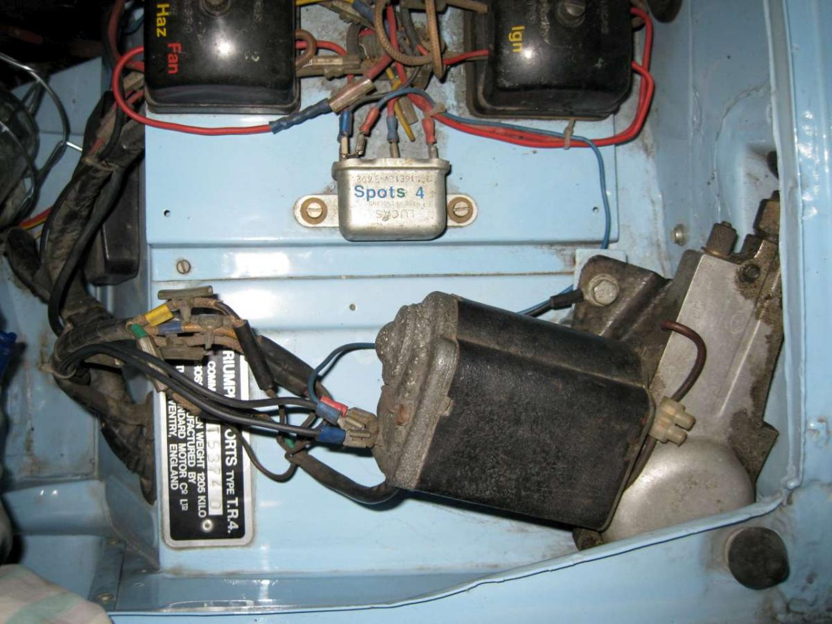 works cars - wiper motors - TR2/3/3A/3B Forum - TR Register Forum