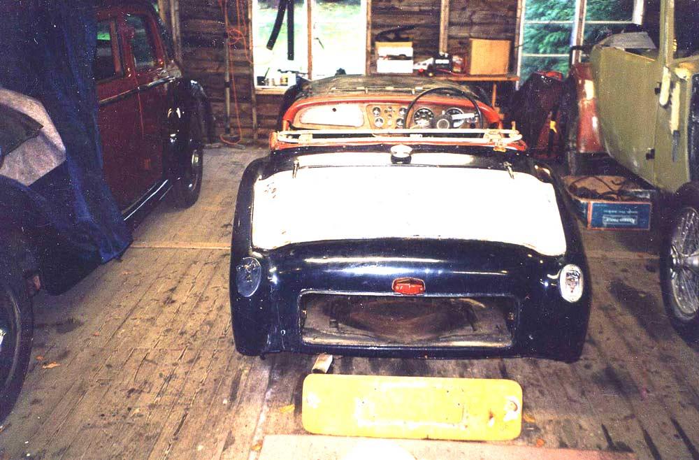 Rear tub restoration - TR2/3/3A/3B Forum - TR Register Forum