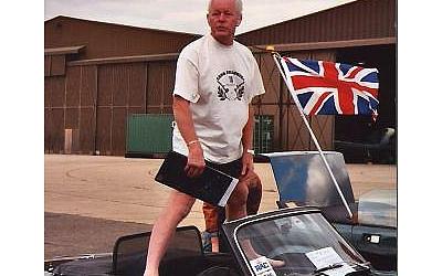 Peter Parkinson, Eastern Groups meeting, Duxford 2003