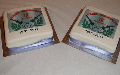 35th Anniversary cake 2011