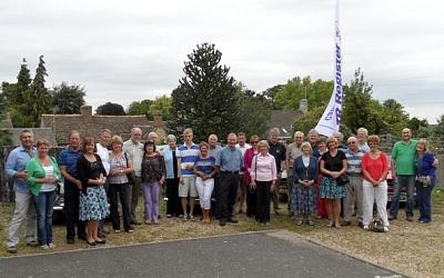35th Anniversary, Millstones, Barnack 2011