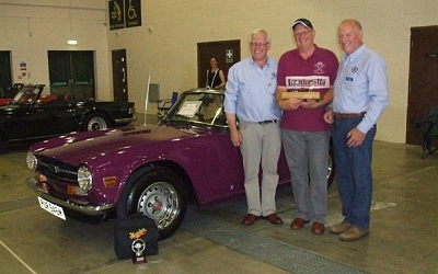 Tim Hurry wins Car of the Show Harrogate International 2011