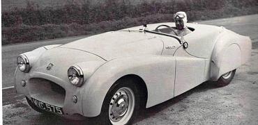 A record breaker restored - Jabbeke Triumph TR2 returns