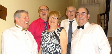 Five Glavon Group Leaders at Limpley Stoke