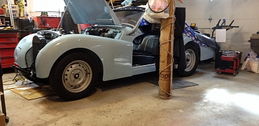 1960 TR3a Restoration - Front wings aka the project from Hell.