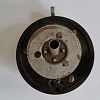 TR3A control head assembly, steering wheel Boss unit, pre-used (rear view).