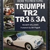 How to restore a Triumph TR2,3 & 3A by Roger Williams, For Sale...