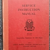TR2 Service Instruction Manual with TR3 supplement, For Sale...