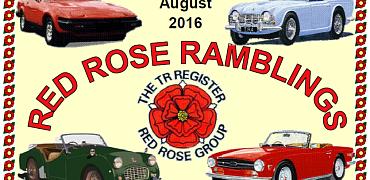 Red Rose Ramblings August 2016