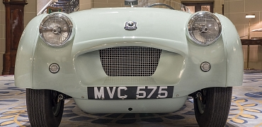 Restored Record Breaker displays at the Royal Automobile Club