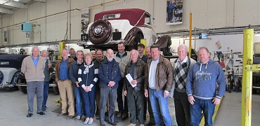 Glavon Drive-it Day Visit to Fiennes Restoration Workshops - 23rd April 2017