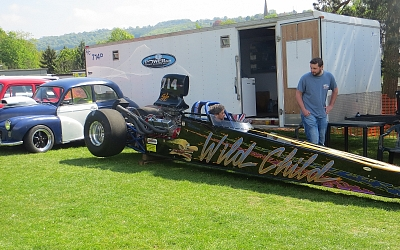 Very loud Super Comp Dragster