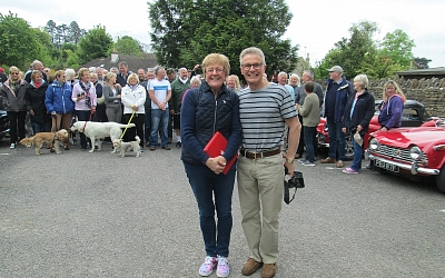Group Leaders Jeanna Ind and Andy Dimbleby