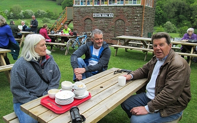 At the Old Station Cafe Tintern