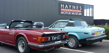 Drive to Haynes Motor Museum