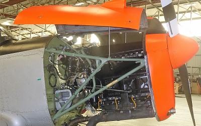 Chipmunk Engine Bay