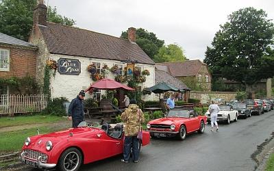 At The Blue Boar Inn, Aldbourne