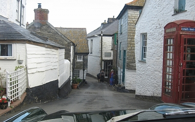No TV doctors to be seen in Port Isaac.