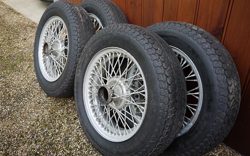 TR3a Wire Wheels
