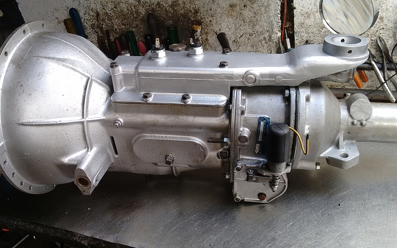 TR2/3 overdrive gearbox