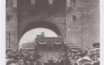 Tank 'Julian' fundraising for war savings 1918