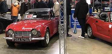 The International MG and Triumph Spares Day 2018 Report