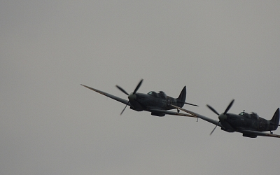 Spitfires Over Goodwood