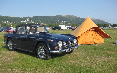 Robert and Yvonne's TR5