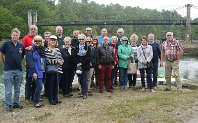 TR Lincs and Triumph Club of France group photo during our trip to Brittany in September.