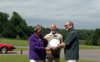 Mike & Kate receiving with the B Warcup Plate