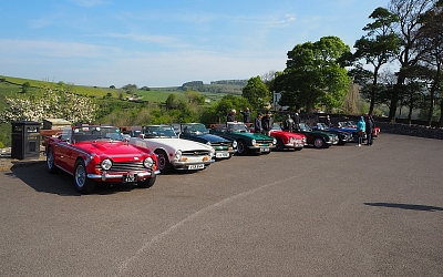 The Monsal Head Car Park