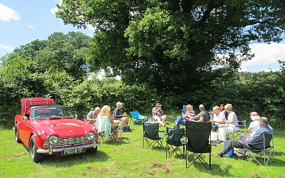 Picnic time at Newent