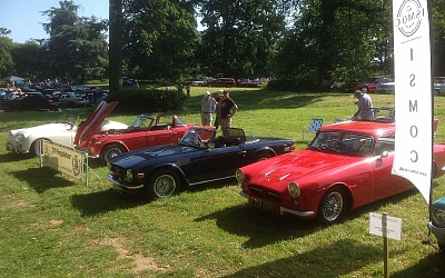 18/6/2017 Cars on the Green at Nowton Park #1