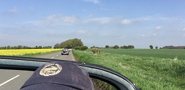 Kennet Valley TR Group & Vale of the White Horse have a great sunny Drive it Day!