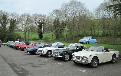 Impressive line-up at Prinknash Abbey Park Cafe