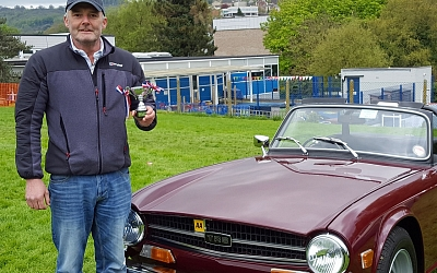'Best Sports Car in Show' award for Glavon's Simon Brown
