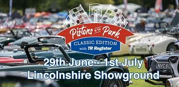 The TR Register International Weekend with Pistons in the Park