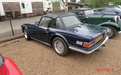 13/05/2018 South Suffolk - Stewart Hurrell's TR6