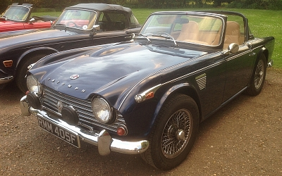 08/05/2018 Club Night - East Saxson's TR4a