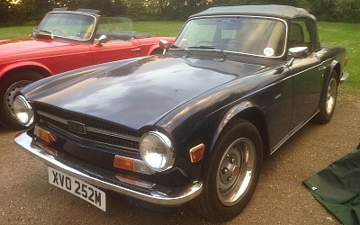 08/05/2018 Club Night - Stewart Hurrell's TR6