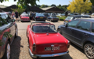 20/05/2018 Breakfast at Thetford Garden Centre