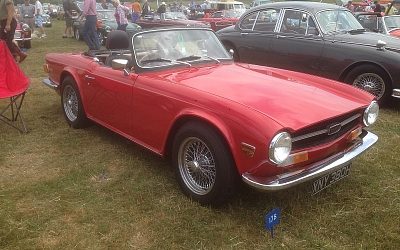 Abbott & Stour's Richard Moore Red TR6