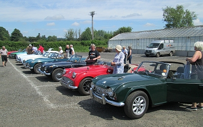 The cars had attracted much interest at Morris's