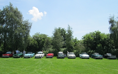 In search of shade at Tredegar House