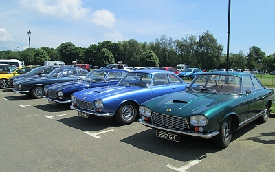 When did you last see a Gordon Keeble, let alone a pack of four!