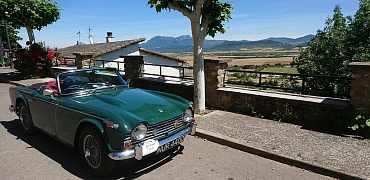 25 TR members - Trip to the Spanish Pyrenees - Mike Colman