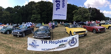 Wolterton Hall Classic Car Show.